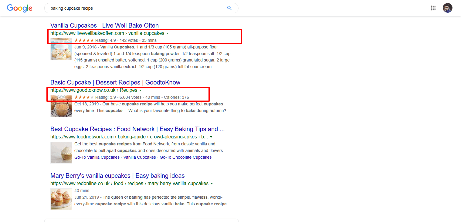 how to start a food blog and make money with rich snippets