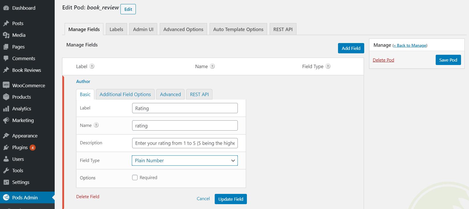 Adding custom fields to a custom post type.