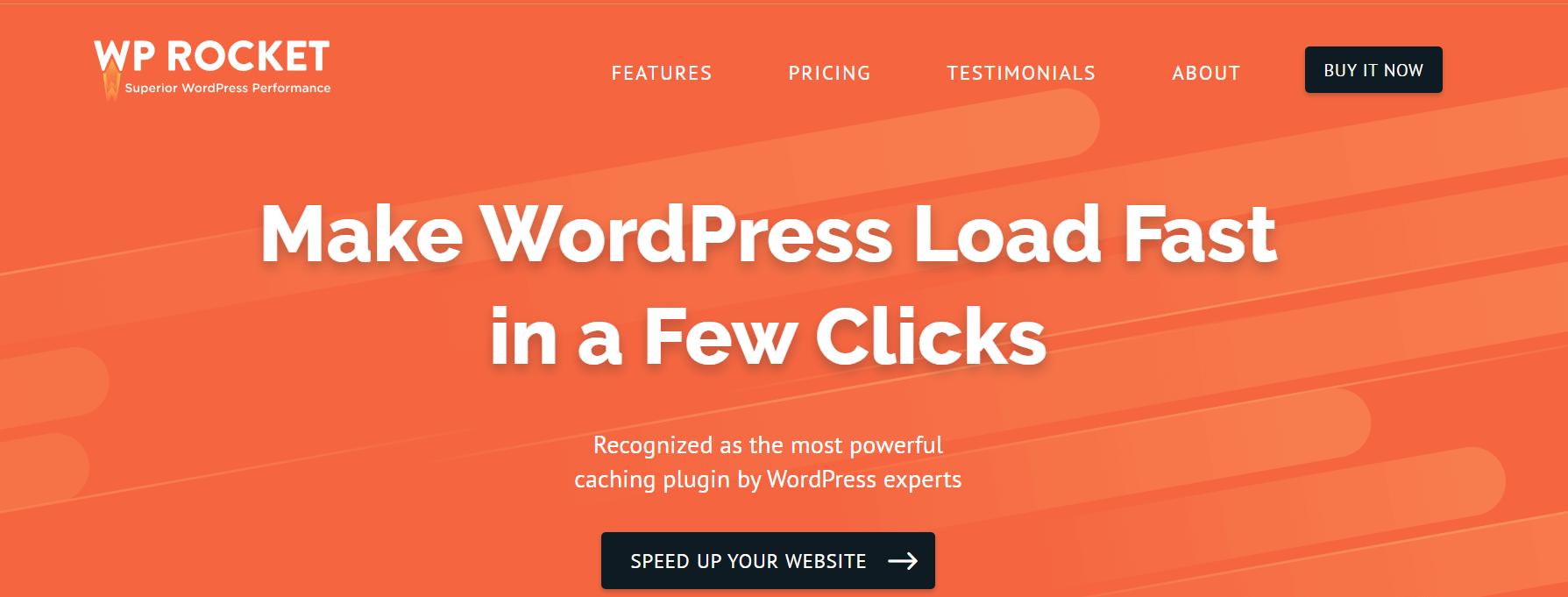 O plug-in WP Rocket é um plug-in WordPress obrigatório para blogueiros.