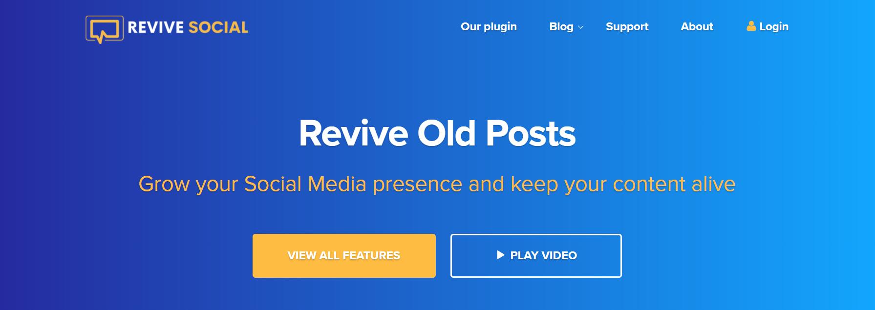 O plugin Revive Old Posts.