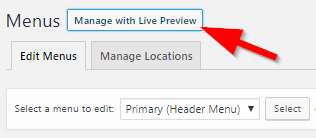 Manage with Live Preview