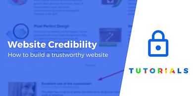 build a trustworthy website