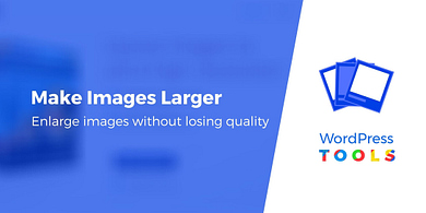 Five tools for resizing images