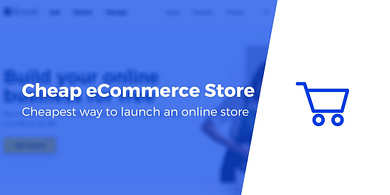 Cheapest Way to Launch an eCommerce Store