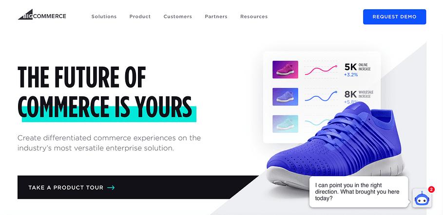 The BigCommerce eCommerce platform.
