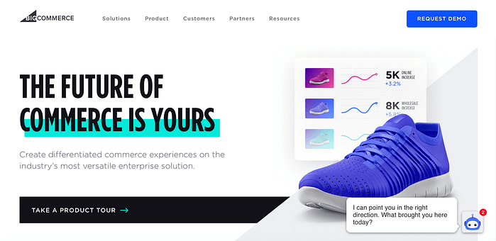 The BigCommerce eCommerce platform.