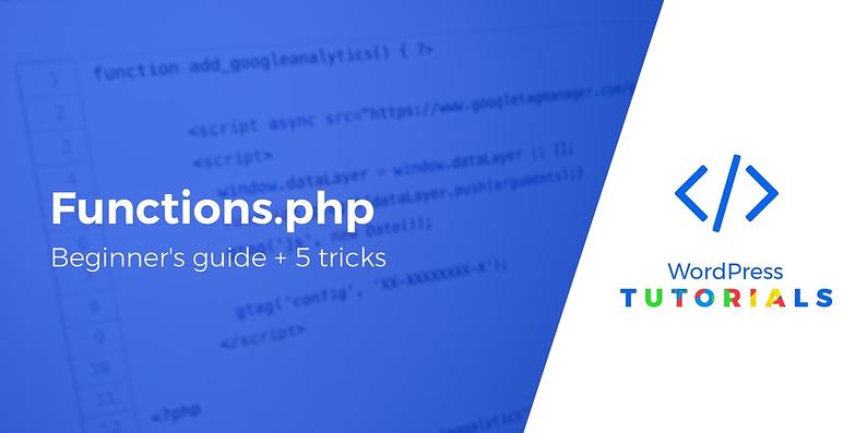WordPress functions.php