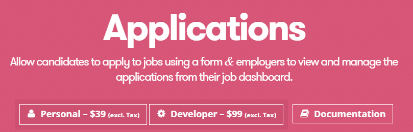 The Applications extension.