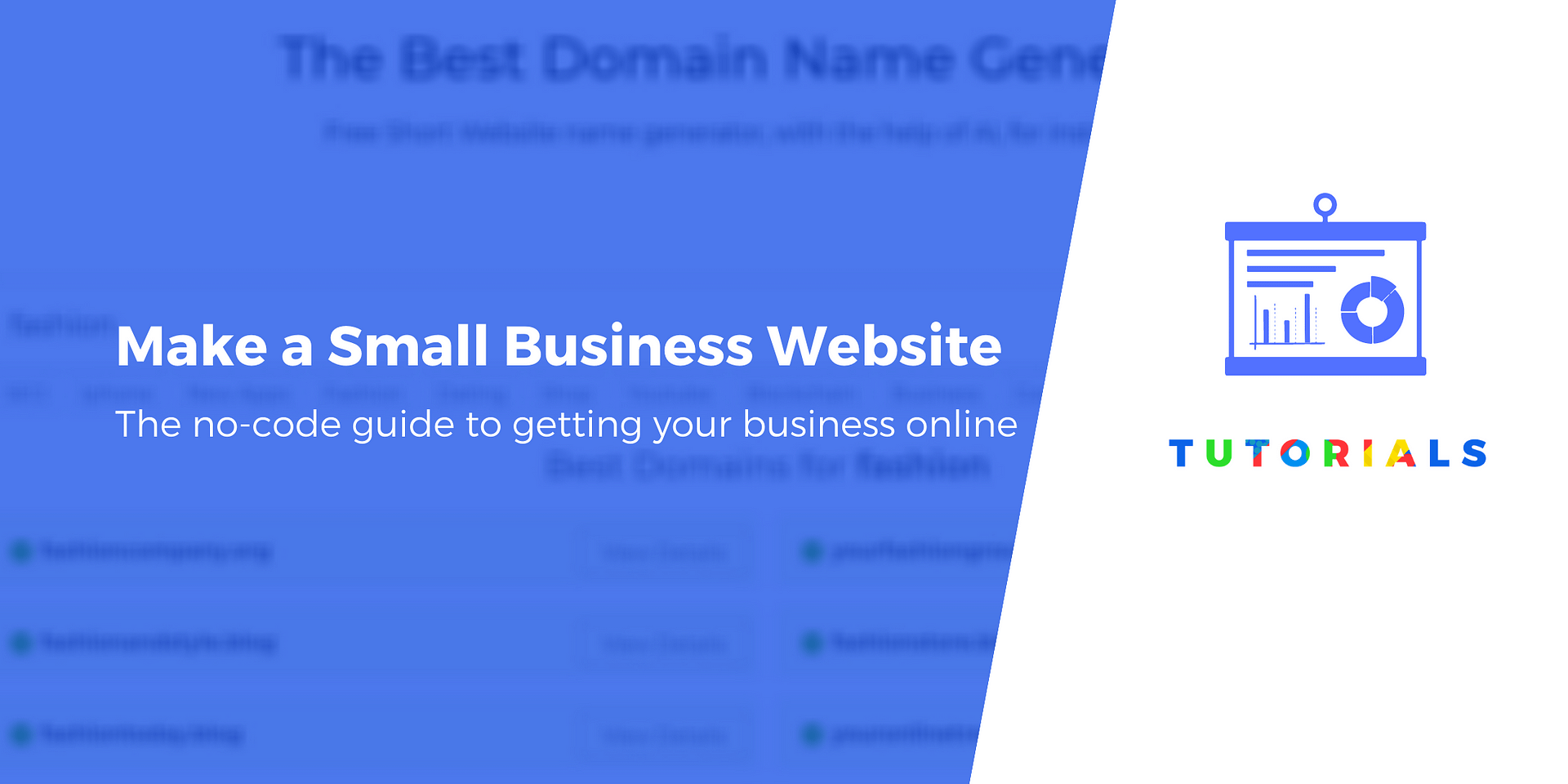 How To Make A Small Business Website