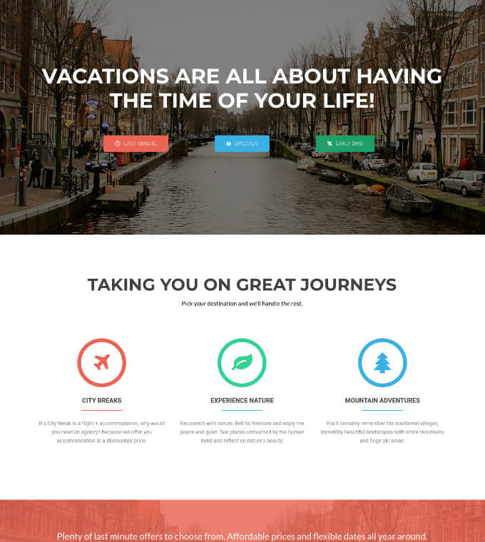 Travel Agency Featured Image