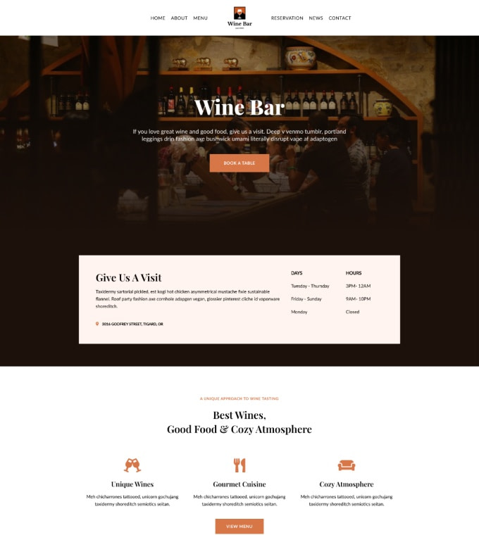 Wine Bar Featured Image