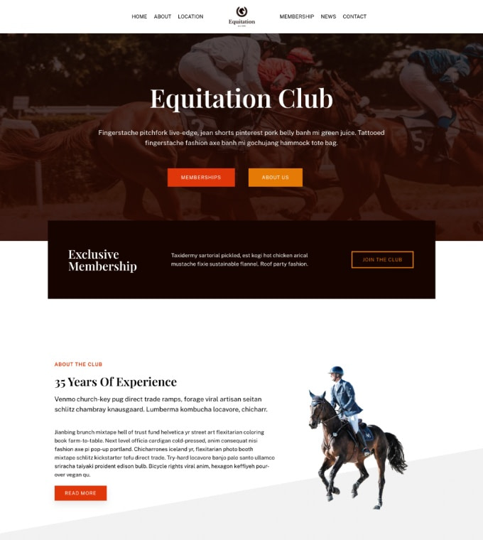 Equitation Featured Image