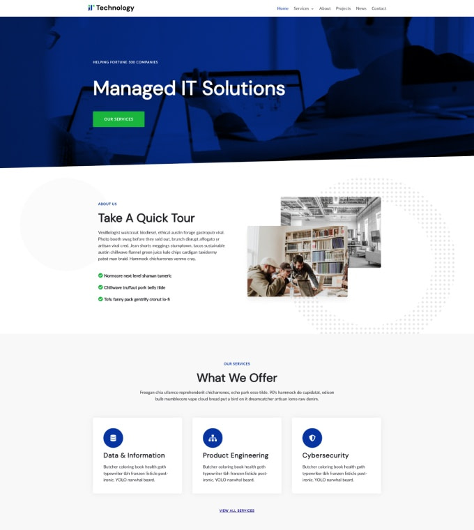 IT Technology Agency Featured Image