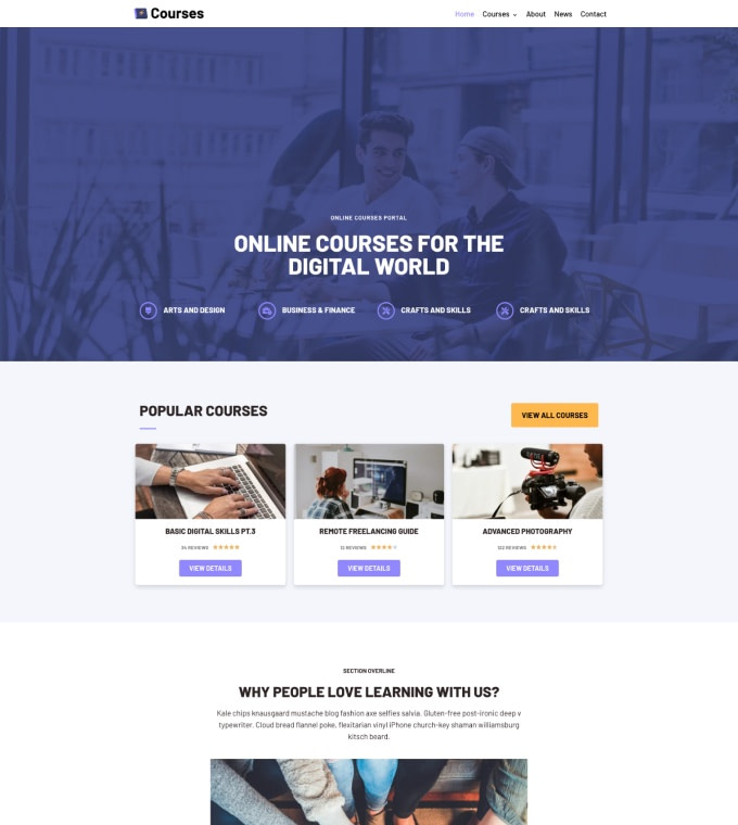 Online Courses Featured Image