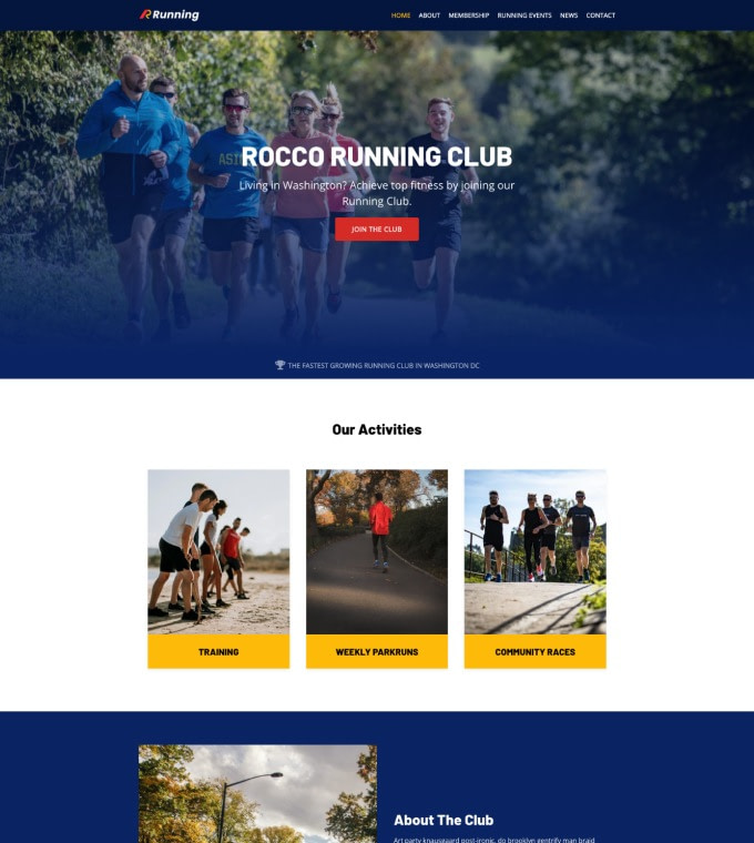Running Club Featured Image