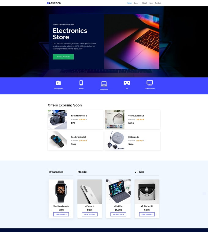 Electronics Shop Featured Image