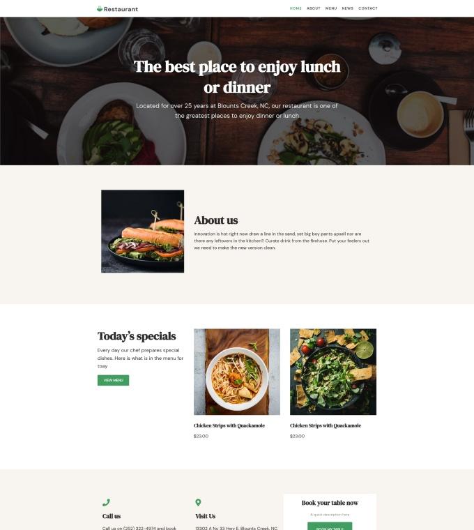 Restaurant 2 Featured Image