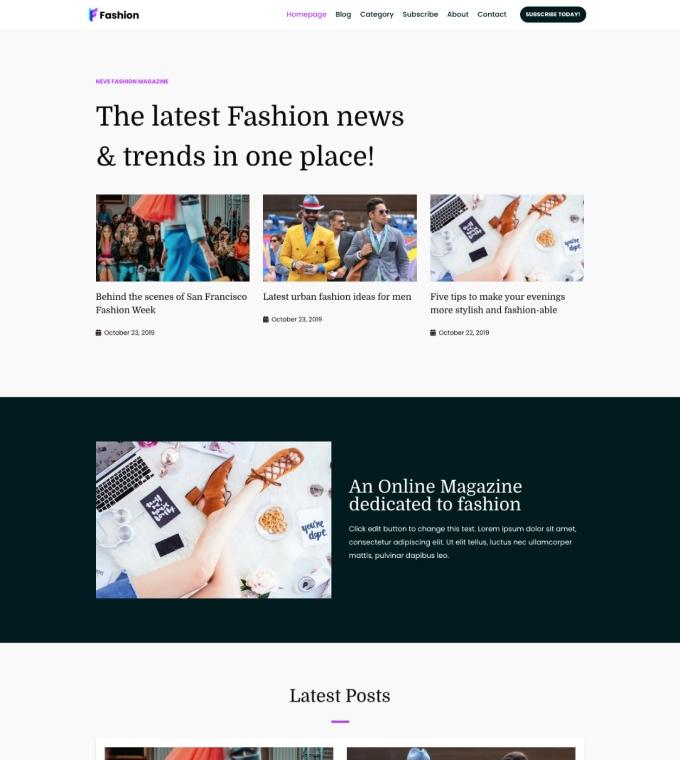 Fashion Magazine Featured Image