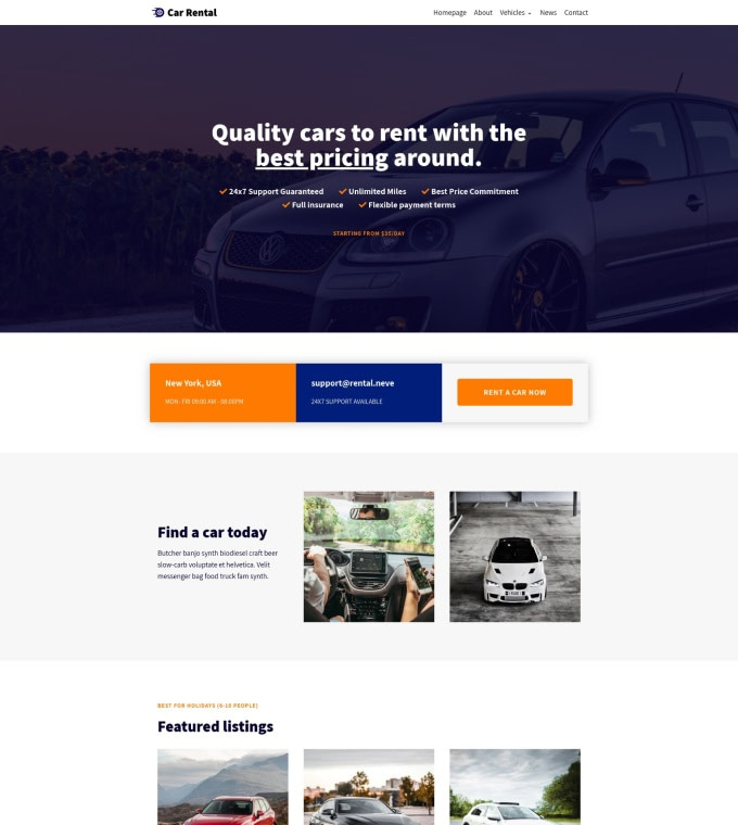 Car Rental Featured Image