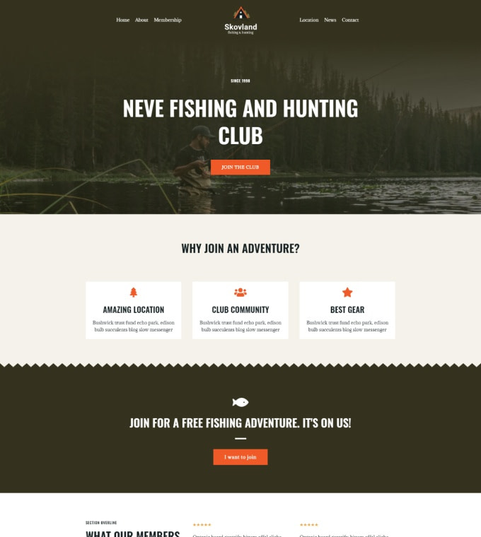 Fishing Hunting Club Featured Image