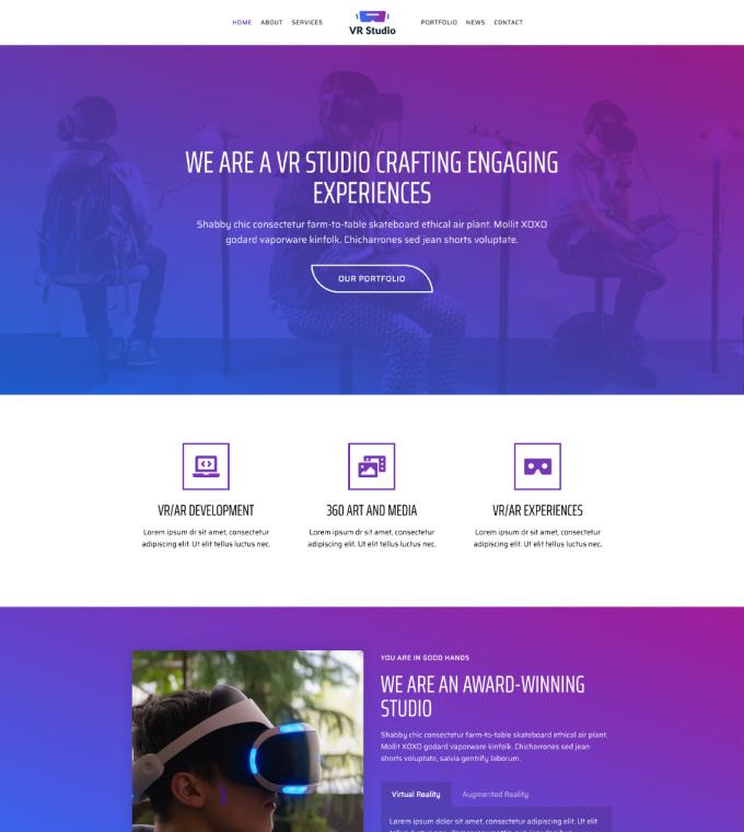 VR Studio Featured Image