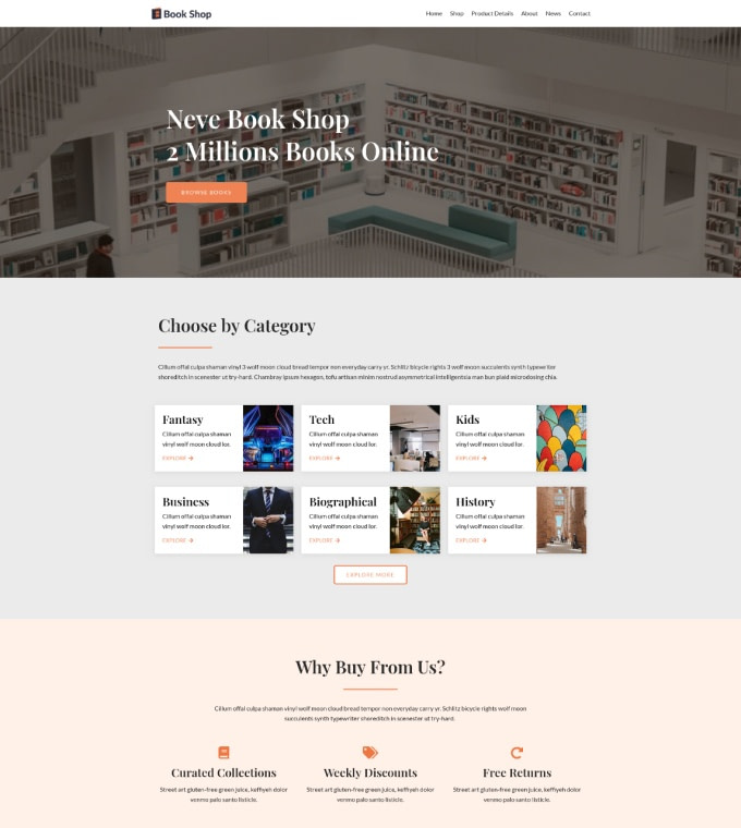 Book Shop Featured Image