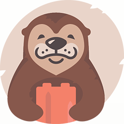 Otter Blocks Logo