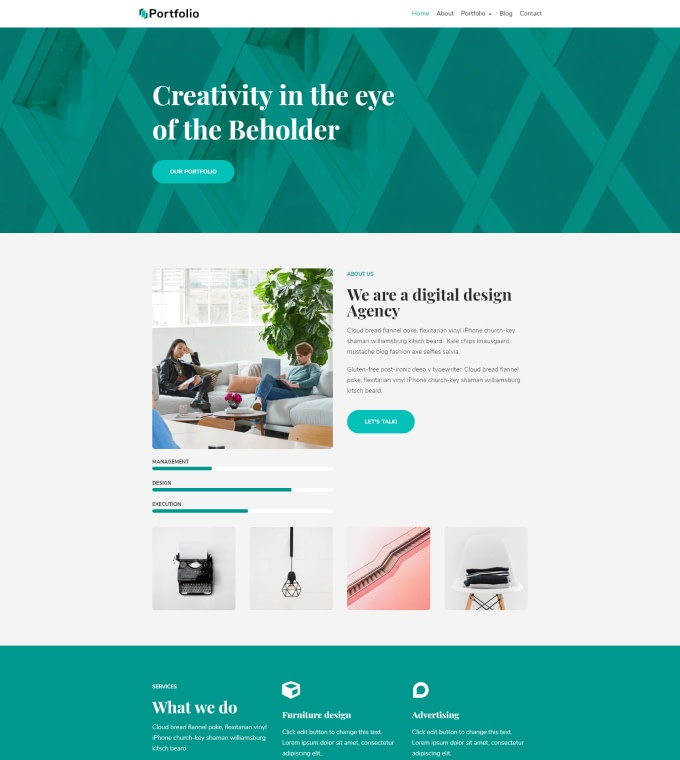 Creative Portfolio Featured Image