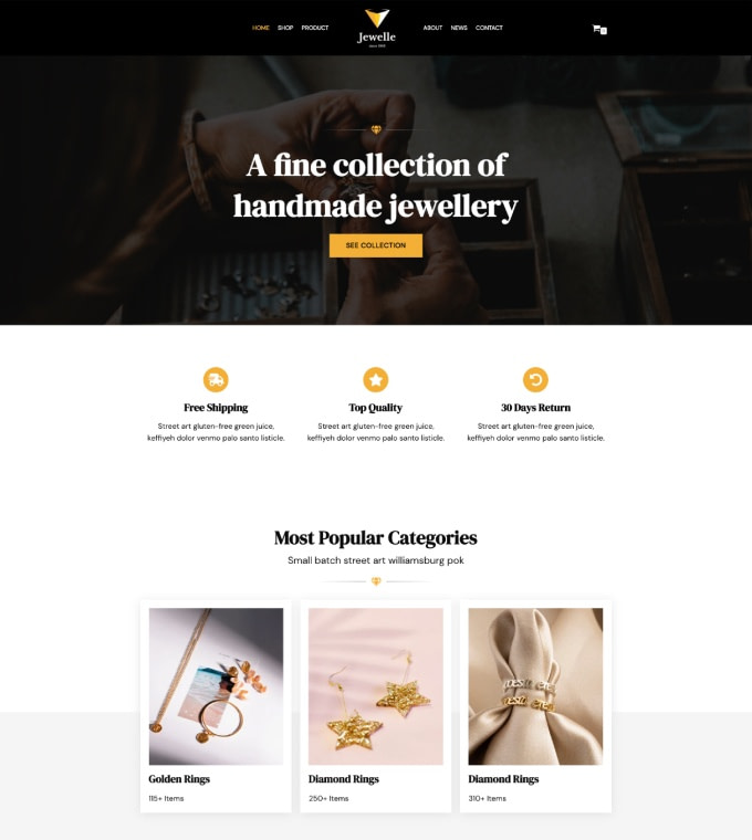 Jewellery Shop Featured Image