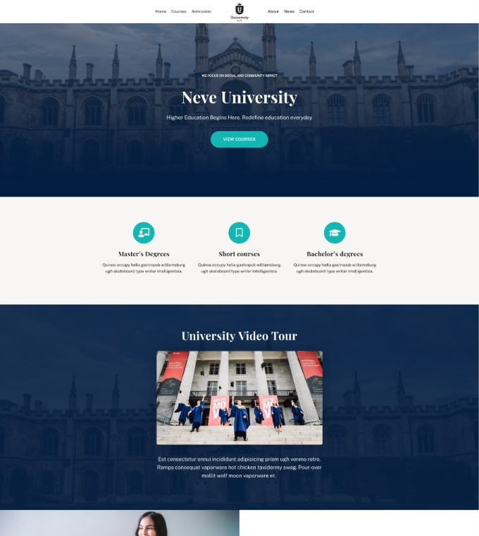 University Featured Image