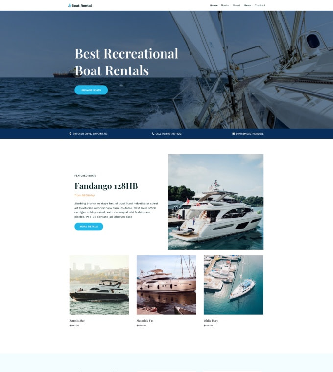 Boat Rental Featured Image
