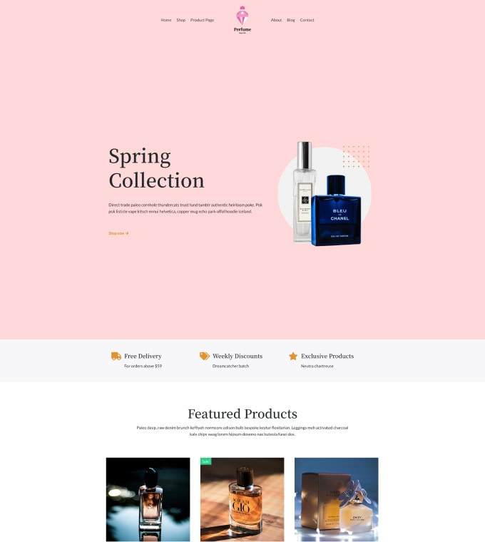 Perfume Shop Featured Image