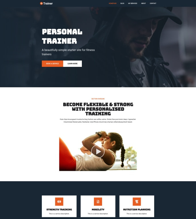 Fitness Trainer Featured Image