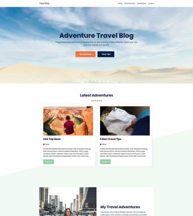 Travel Blog Featured Image