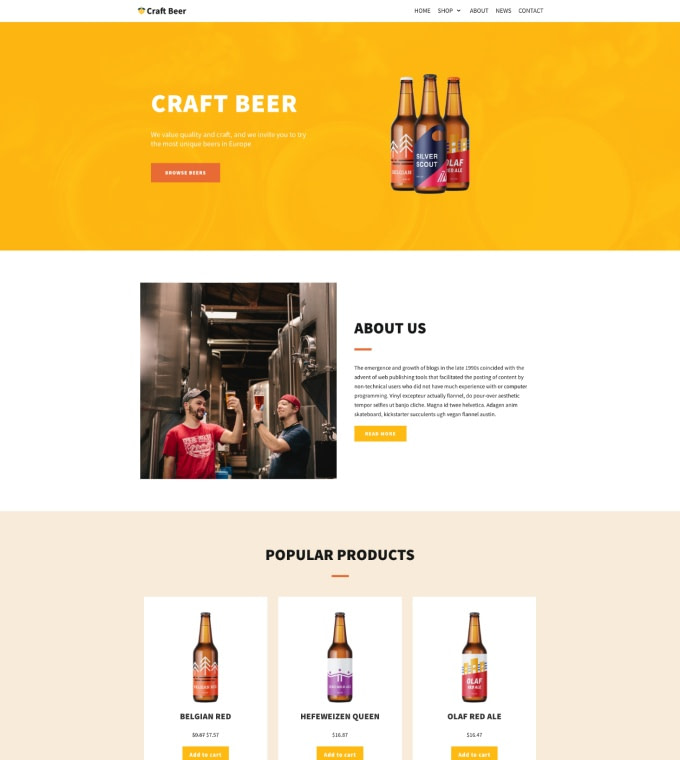 Craft Beer Featured Image