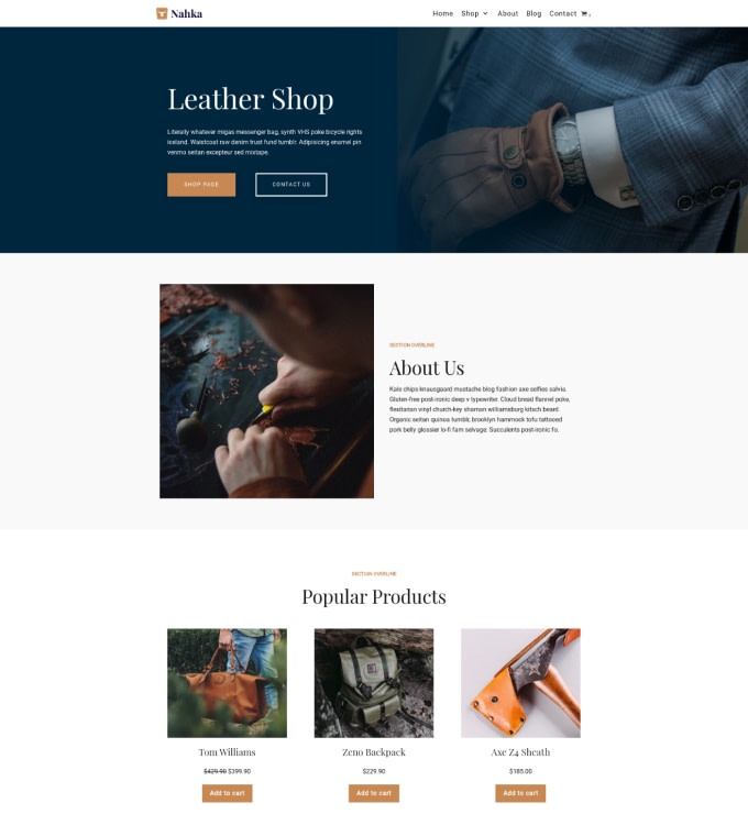 Leather Shop Featured Image