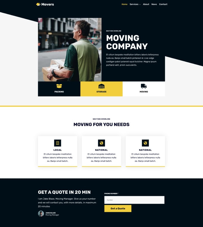 Moving Company Logistics Services Featured Image