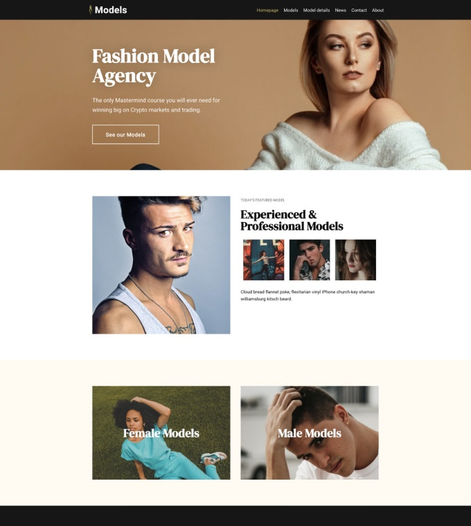 Fashion Model Agency Featured Image