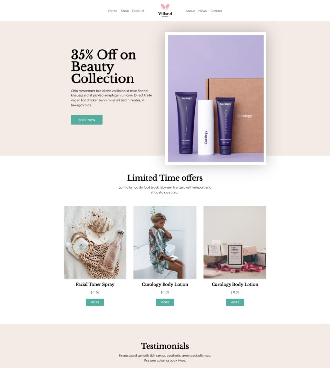 Beauty Shop Featured Image