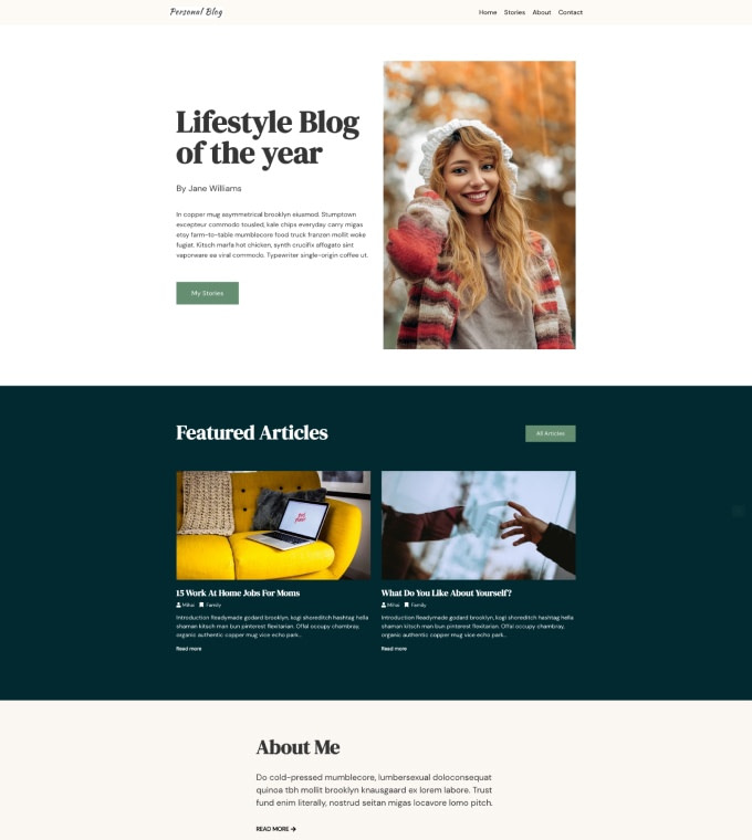 Personal Blog Featured Image