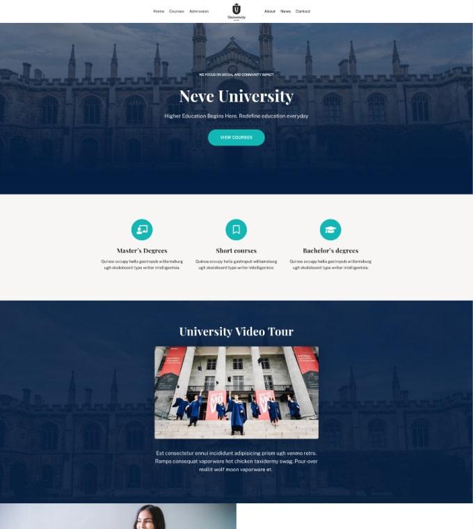 University Featured Image