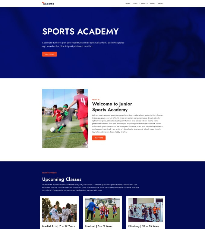Sports Academy Featured Image