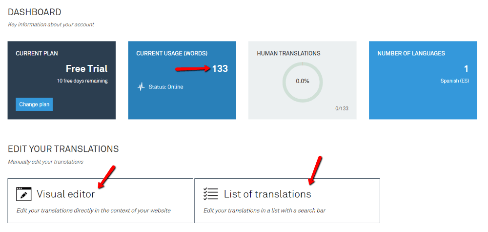 managing your weglot translations