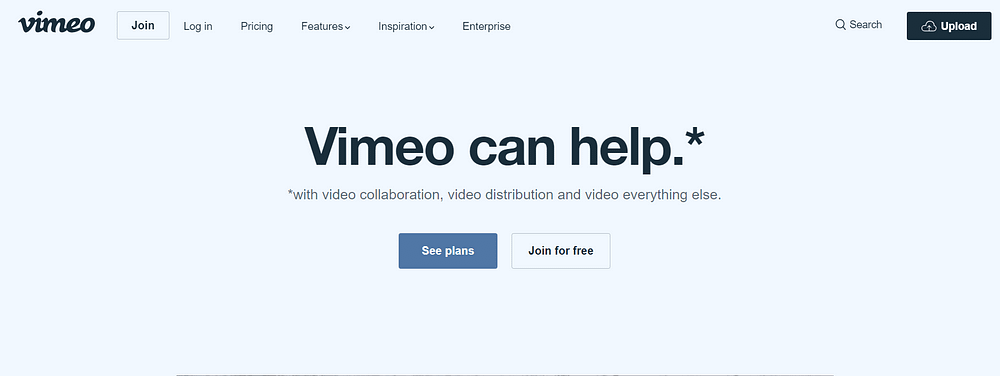 best video hosting sites Vimeo