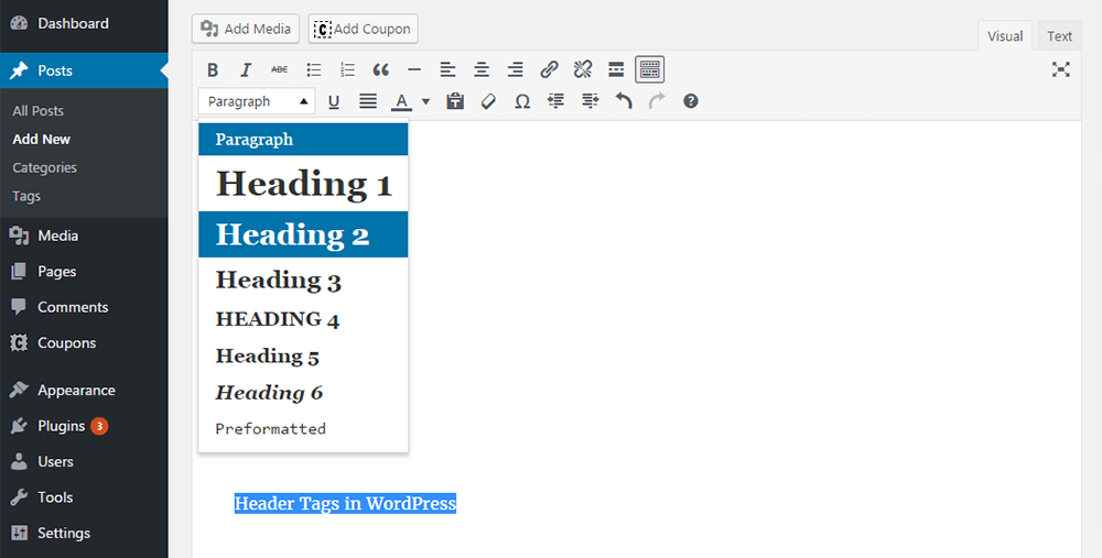 heading-tags-in-visual-editor