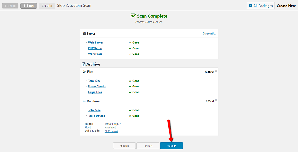 changing your WordPress domain name