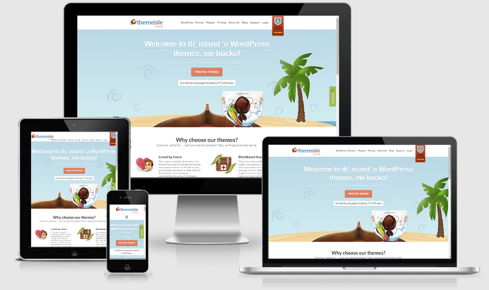 Lack of responsive design is one of the common ecommerce design mistakes