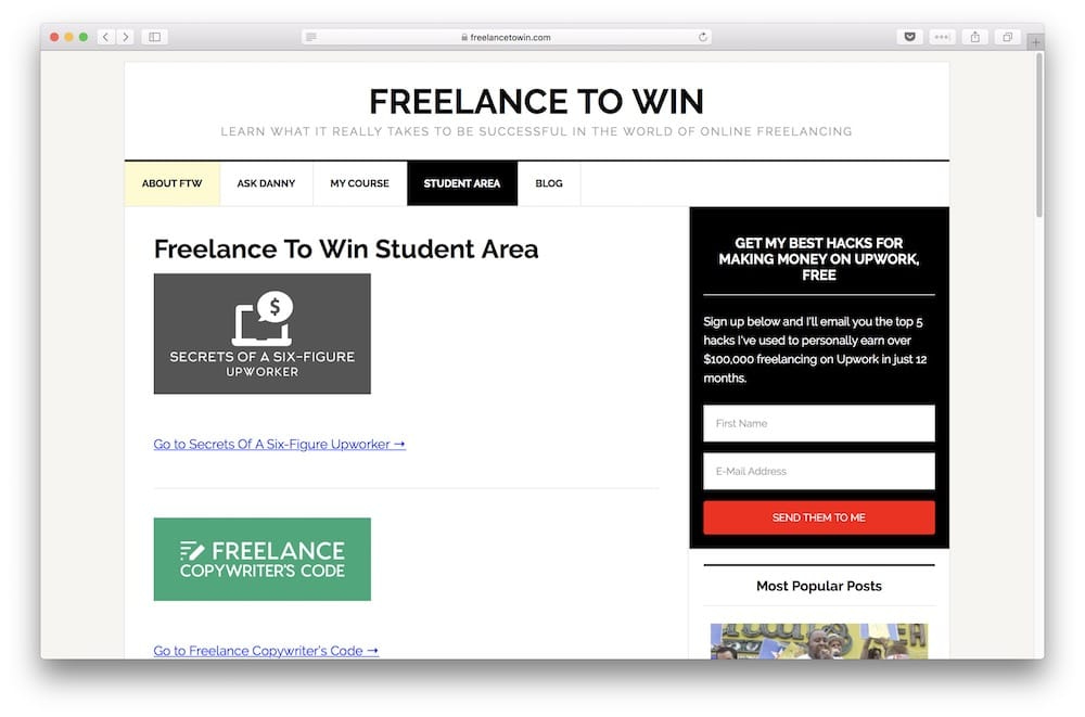 Freelance to Win