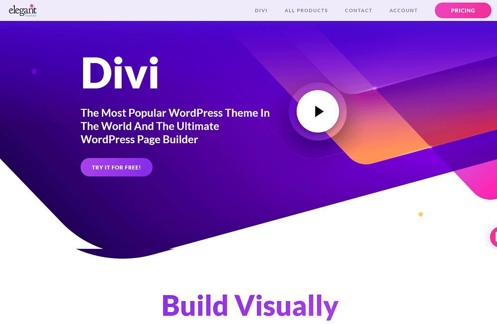 The Divi Builder plugin.