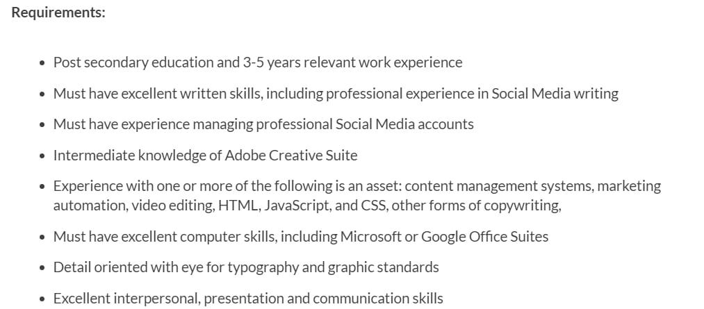 social media manager responsibilities 2